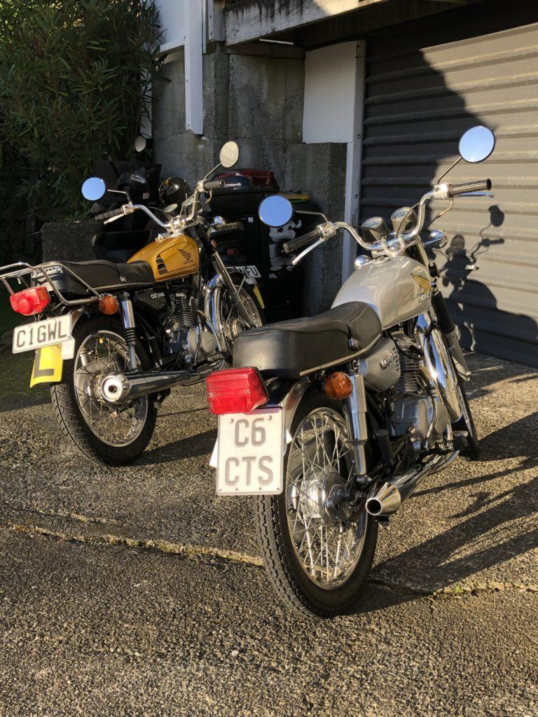 1977 CG125 1980 CG110